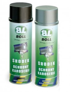 Baranek BOLL spray 500ml czarny